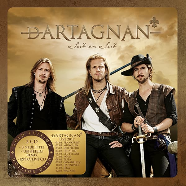 Dartagnan - Seit an Seit - Goldedition
